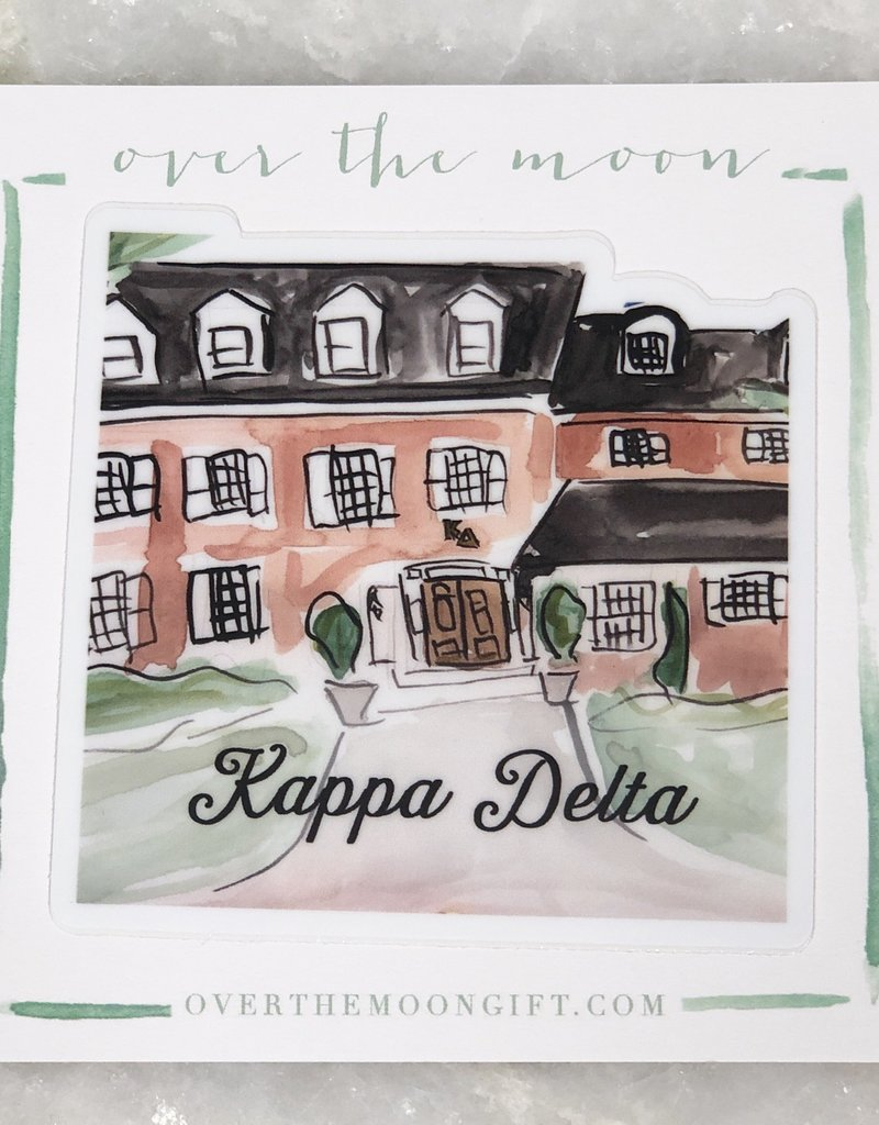 Kappa Delta House Decal