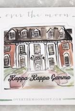 Kappa Kappa Gamma House Decal