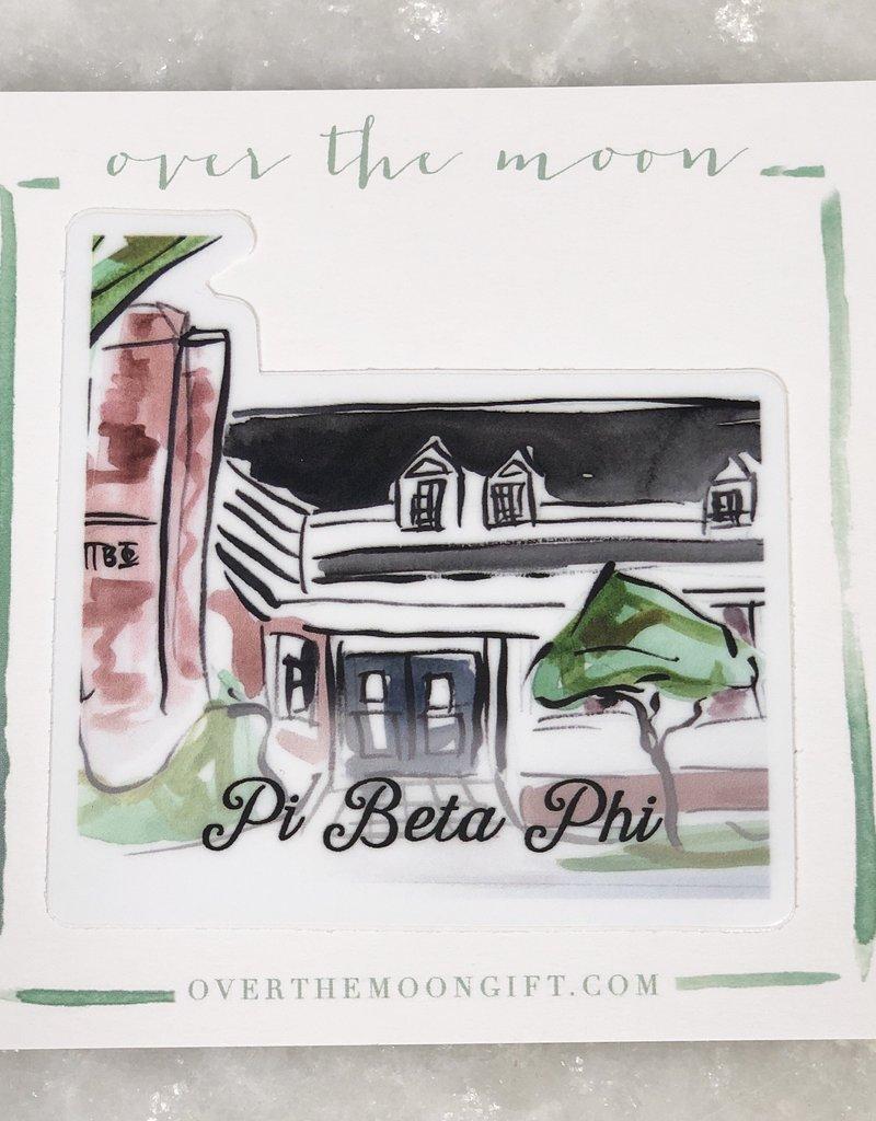 Pi Beta Phi House Decal