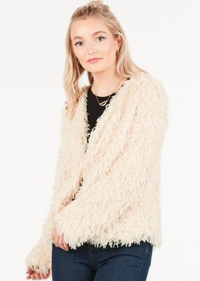 Meraki Fur Real Shruggy Jacket