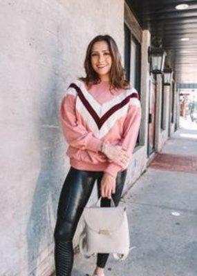 Meraki Vintage Varsity Sweatshirt