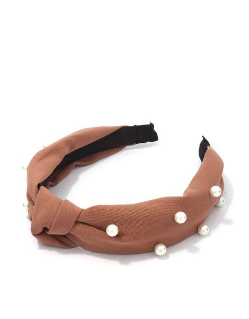 Meraki Upper East Side Headband Rust