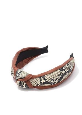 Meraki Brooklyn Headband Tan