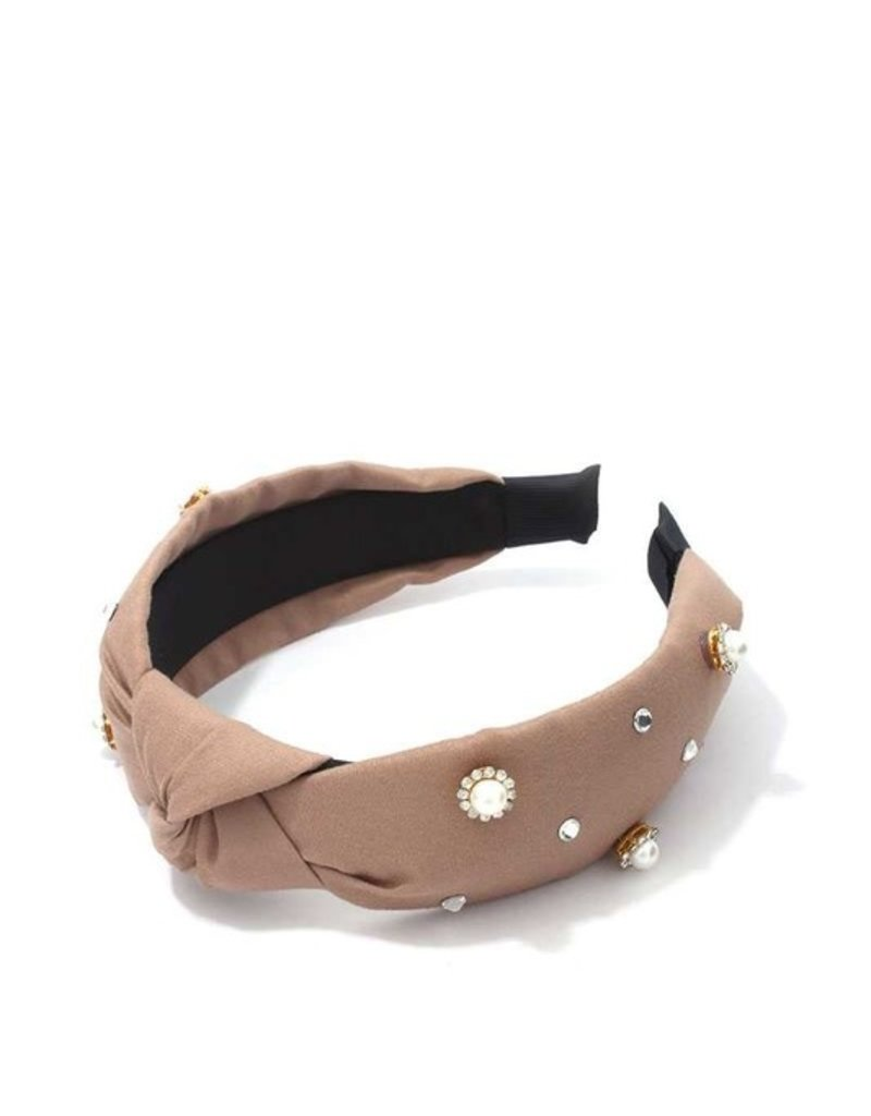 Meraki Manhattan Headband Tan