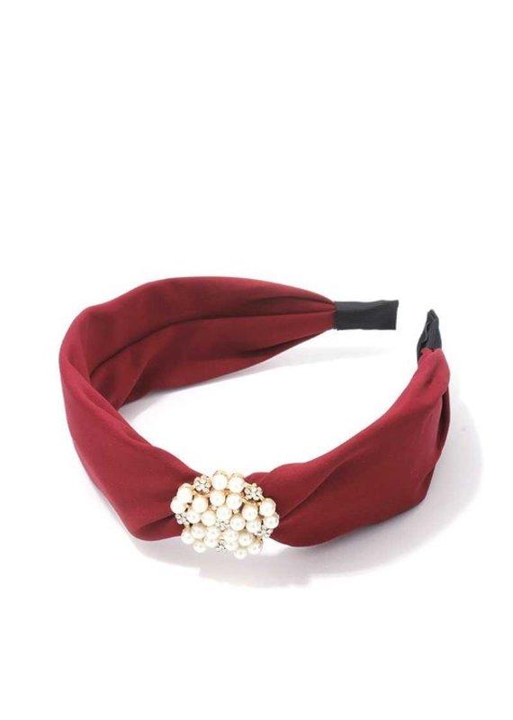 Meraki Park Ave Headband Burgundy