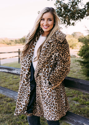 Molly Bracken Faux Fur Coat