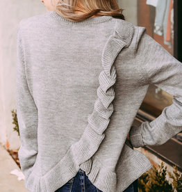 Lumiere Criss Cross Sweater