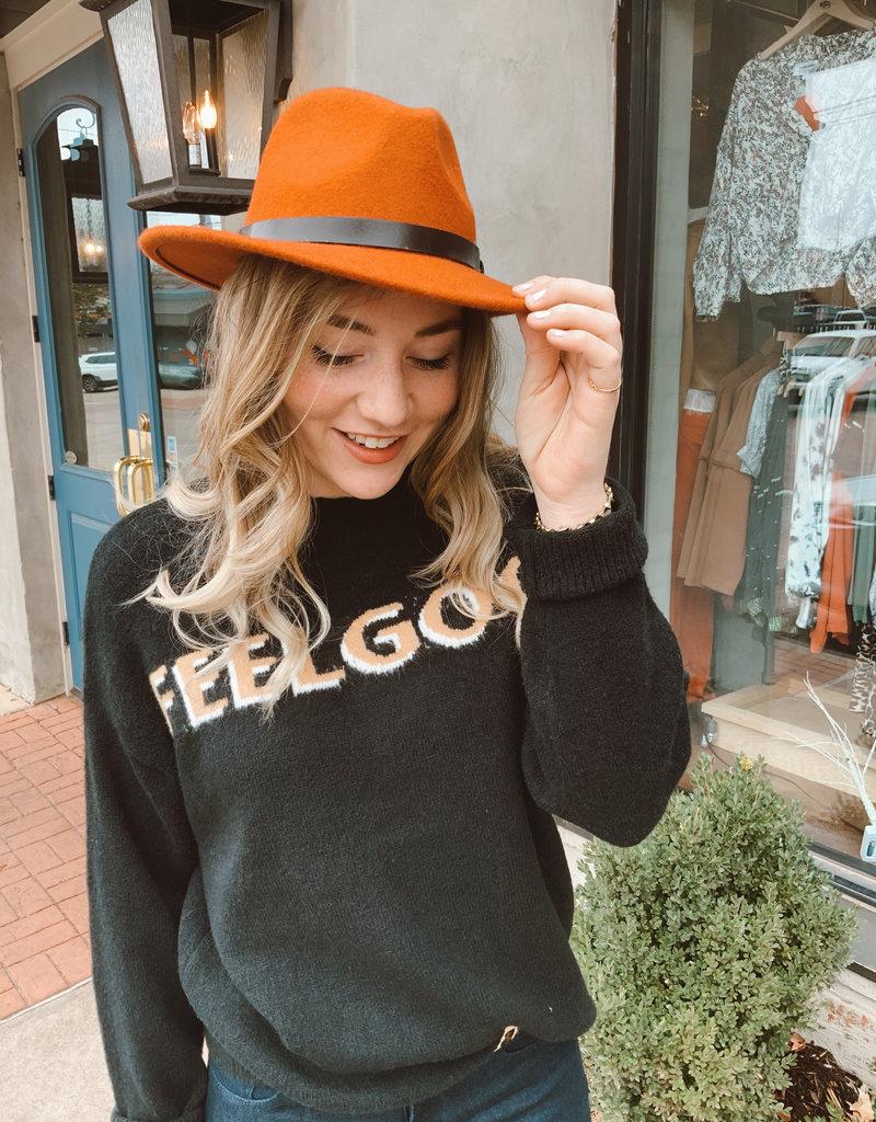 Meraki Feel Good Graphic Sweater