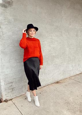 Mac Leopard Skirt