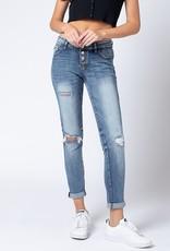 KanCan Slouch & Roll Jean