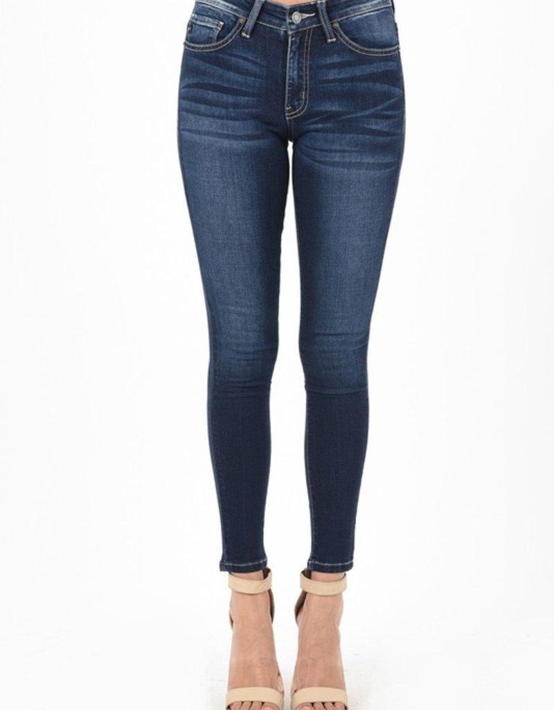 KanCan Mid Rise Super Skinny Jean