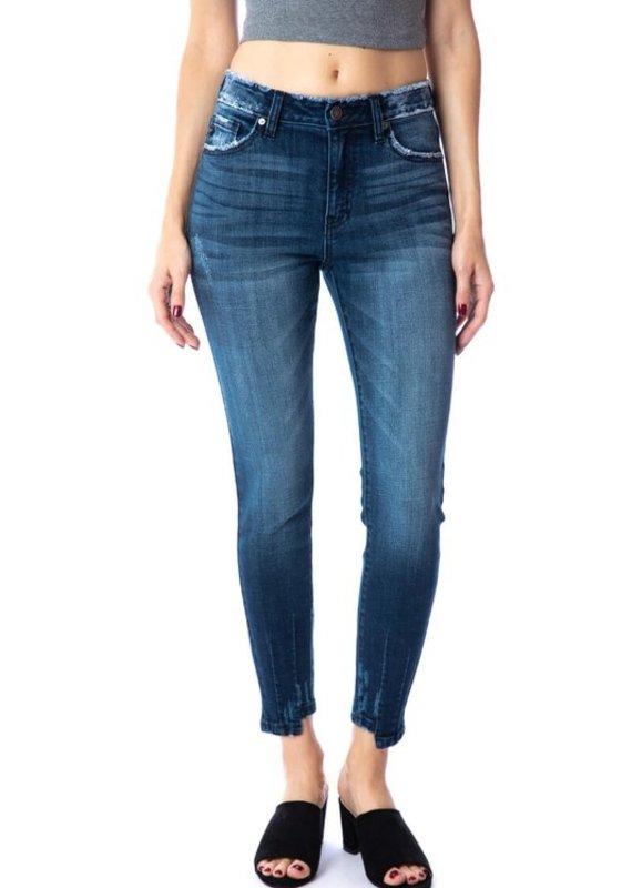KanCan High Rise Ankle Skinny Jean