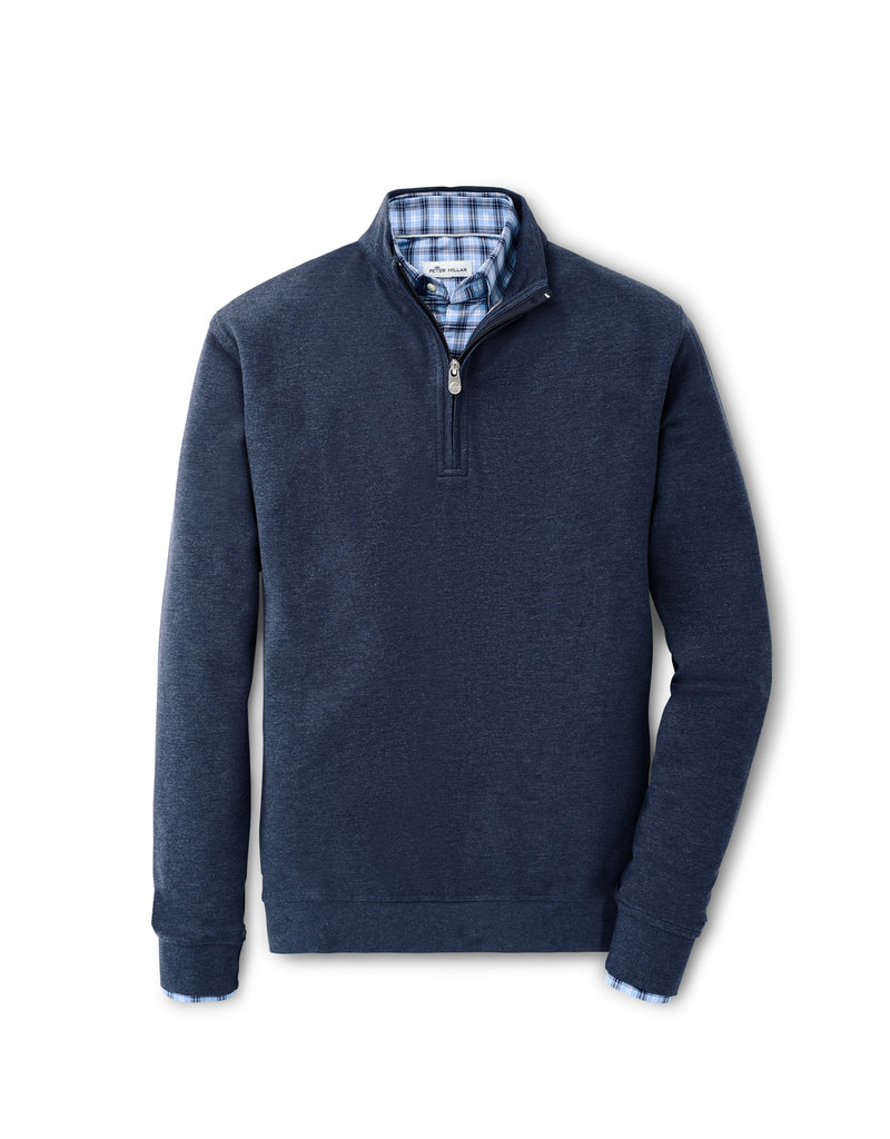 Peter Millar Crown Comfort Interlock Quarter Zip