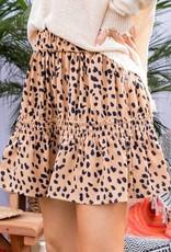 Meraki Flirty Cheetah Skirt