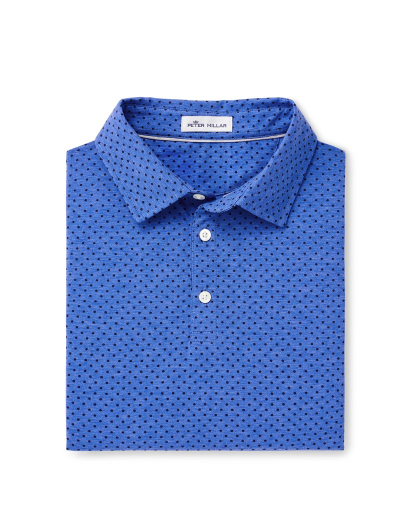 Peter Millar Crown Soft Printed Dot Polo