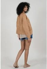 Molly Bracken Gold Buttoned Jacket