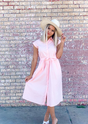 Compania Fantastica Collared Shirt Dress