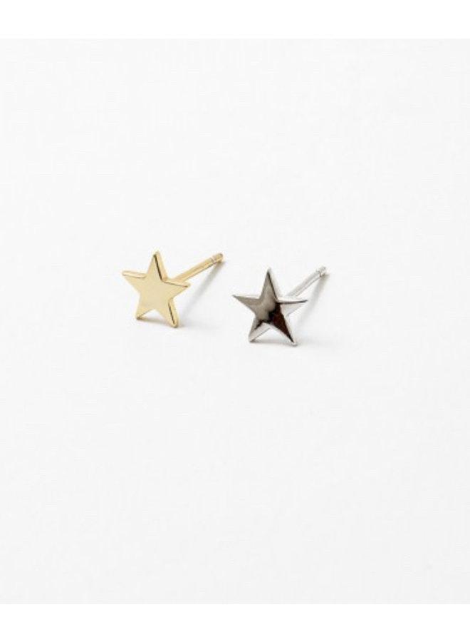 Mini Star Stud, Gold