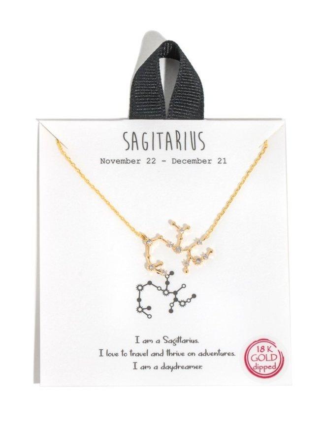 Zodiac Star Necklace