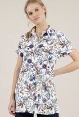 Molly Bracken Printed Collared Dress