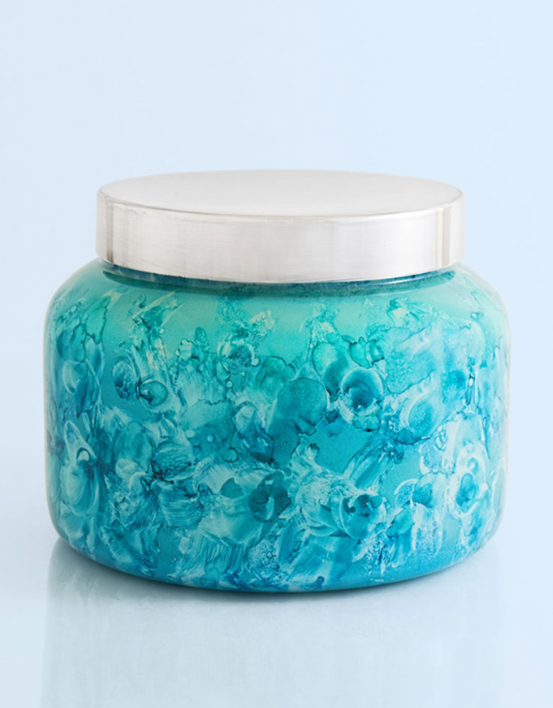 Capri Blue 48 oz Watercolor Jar - Volcano NO. 6