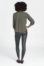 SPANX ® Faux Leather Camo Legging
