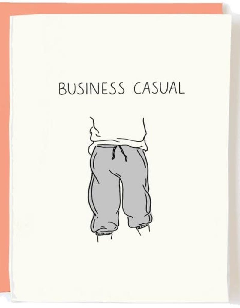 Pop+Paper Business Casual Card