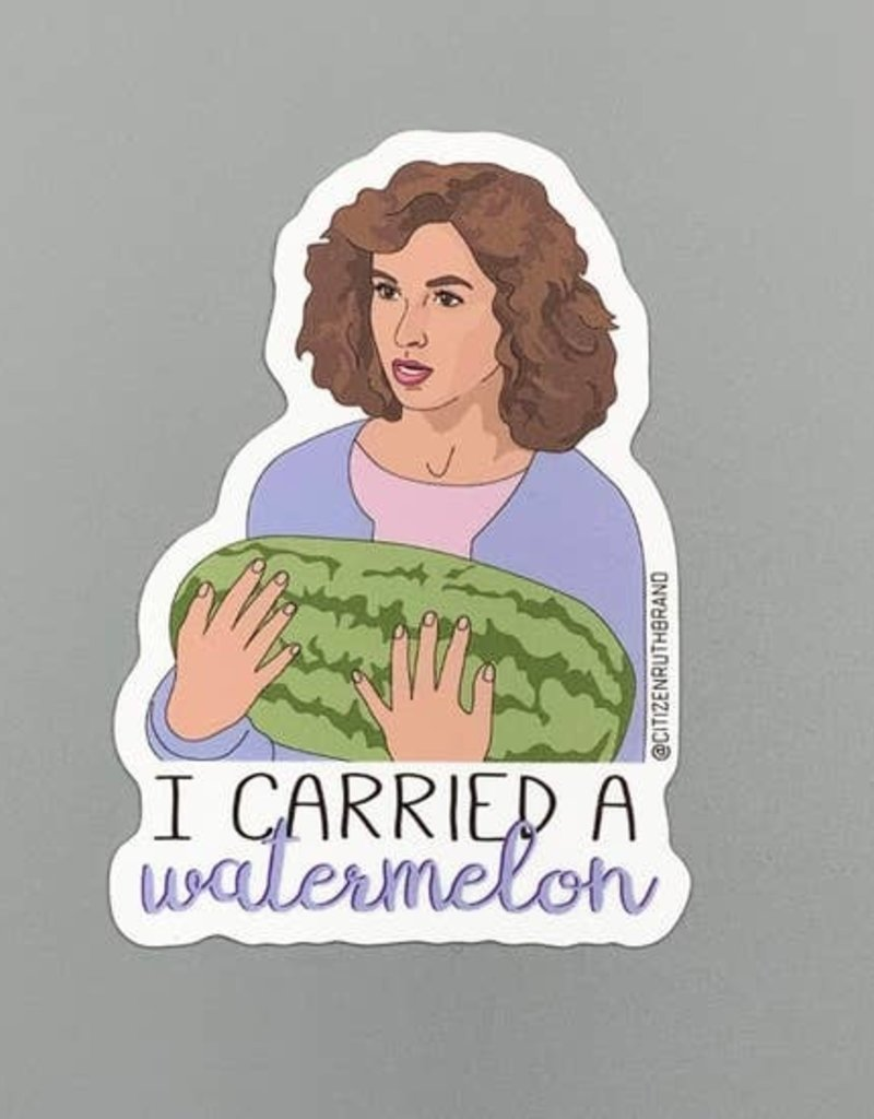 Citizen Ruth Dirty Dancing Sticker