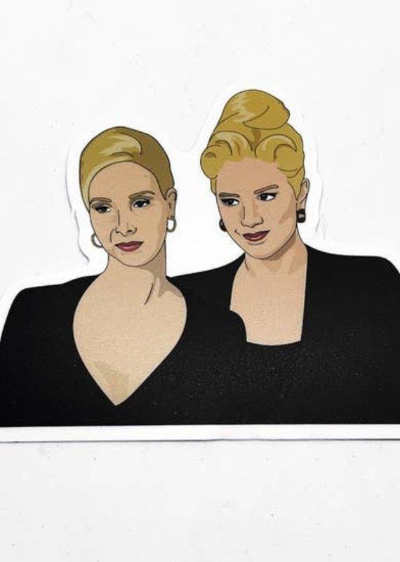 Citizen Ruth Romy & Michelle Sticker