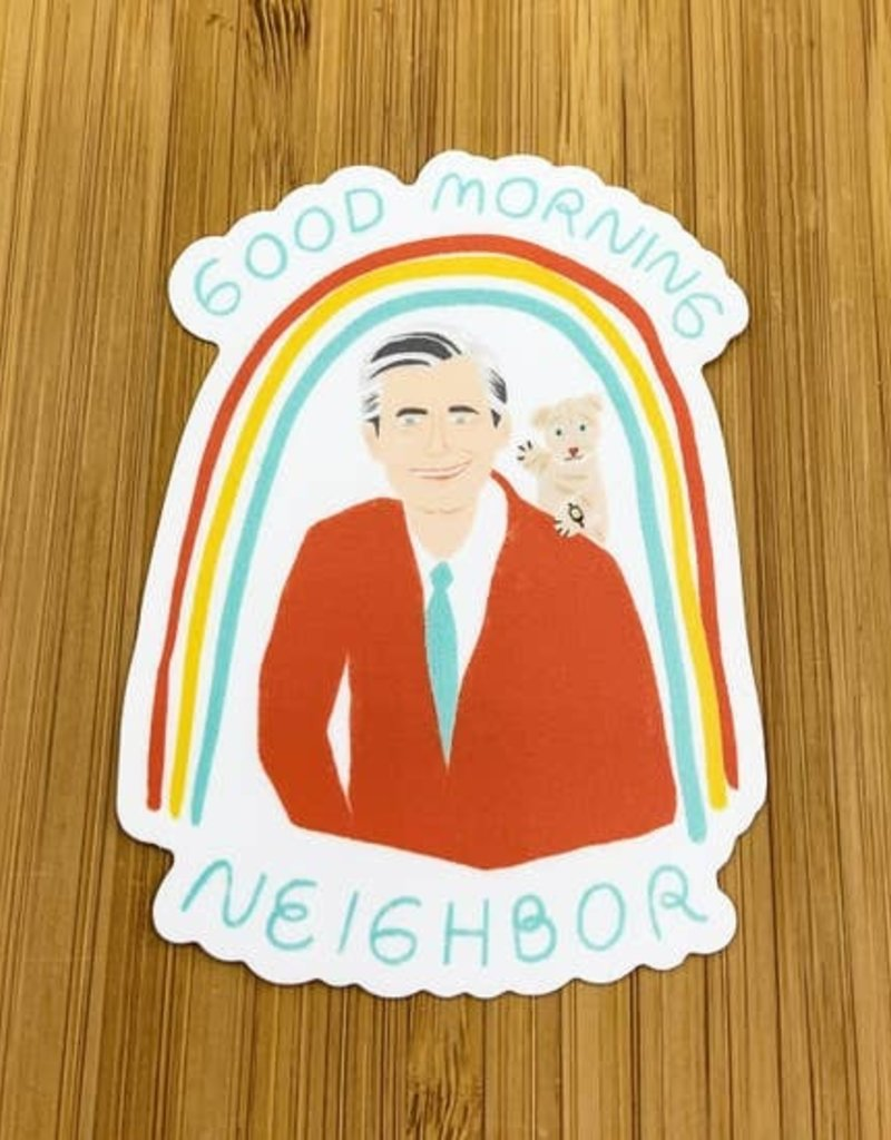 Citizen Ruth Mr. Rogers Sticker