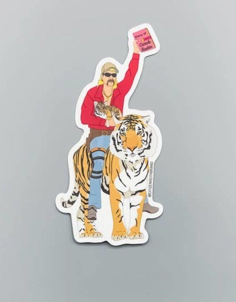 "Citizen Ruth Joe Exotic ""Tiger King"" Sticker"