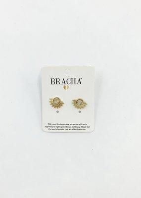 BRACHA Blaze Stud Gold