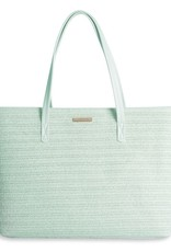 Katie Loxton Callie Straw Beach Bag Mint