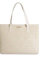 Katie Loxton Callie Straw Beach Bag Beige