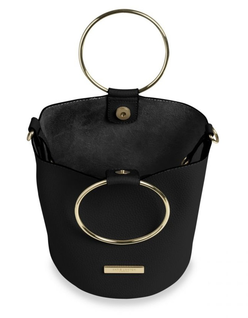 Katie Loxton Suki Bucket Bag Black