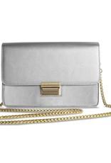 Katie Loxton Anya Box Bag Metallic Silver