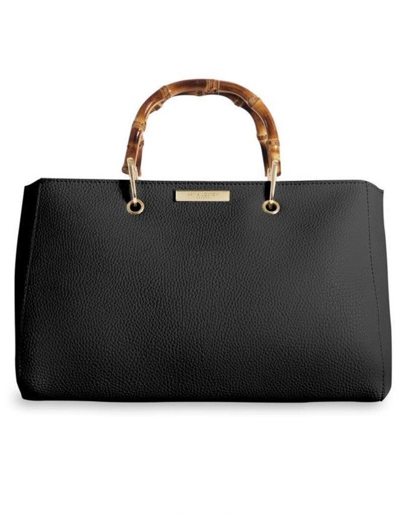 Katie Loxton Avery Handbag Bamboo Black