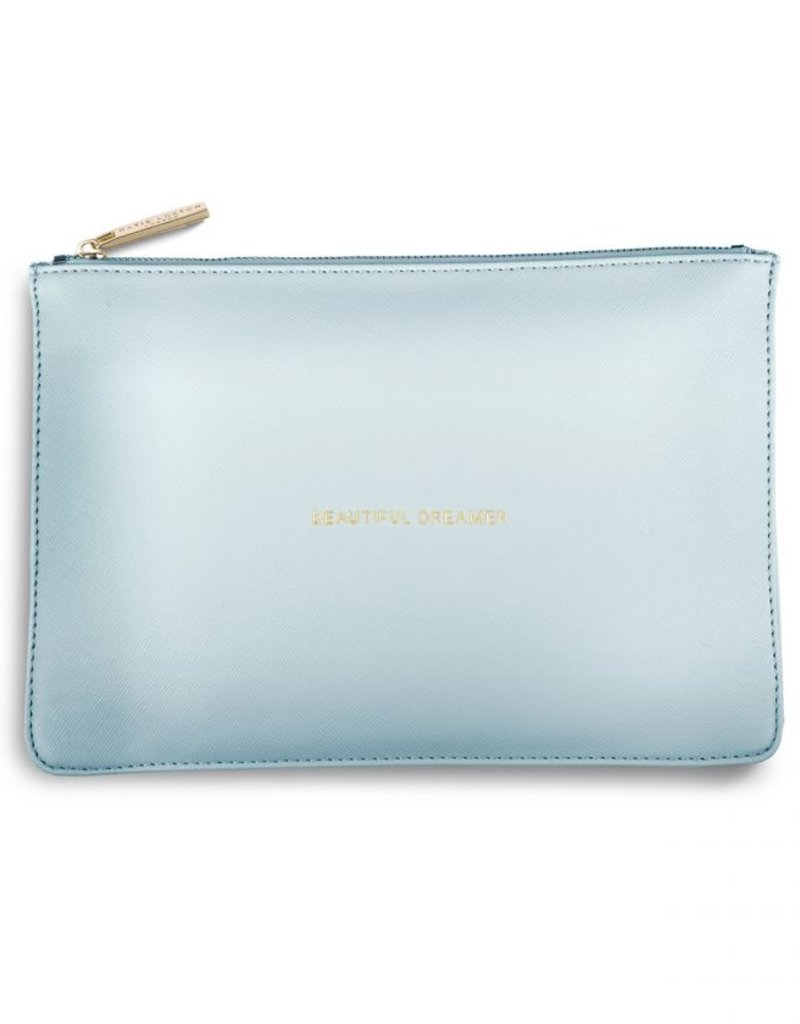 Katie Loxton Perfect Pouch Beautiful Dreamer Shimmer Blue