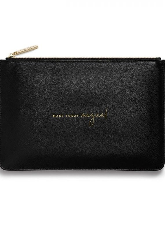 Katie Loxton Perfect Pouch Make Today Magical Black