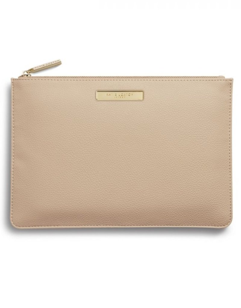 Katie Loxton Pebble Perfect Pouch Tan
