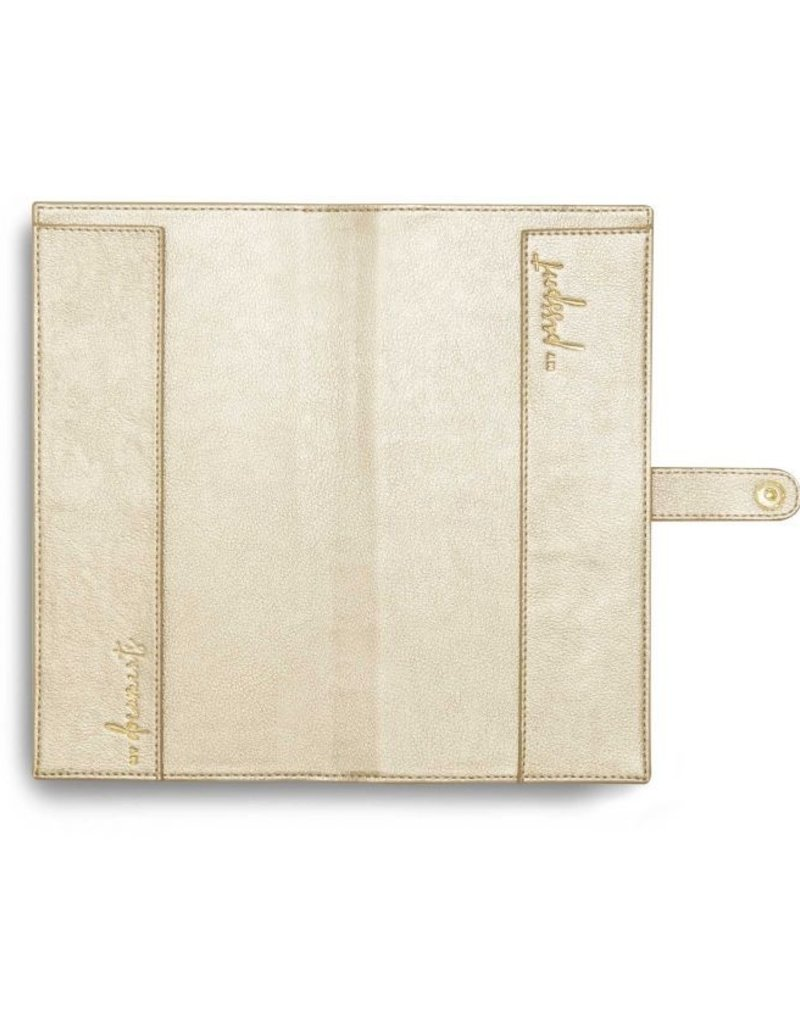 Katie Loxton Travel Wallet Live Love Met Champagne