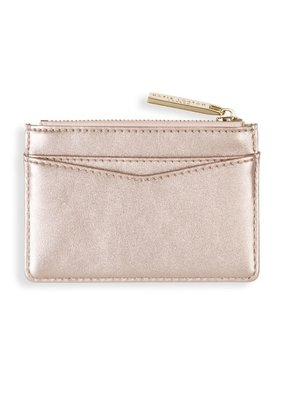 Katie Loxton Alexa Beach Card Holder Rose Gold