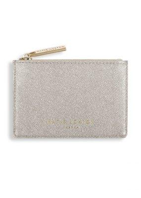 Katie Loxton Alexa Card Holder Champagne Shimmer
