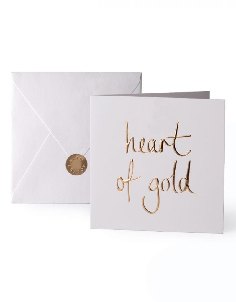 Katie Loxton Greeting Card Heart of Gold