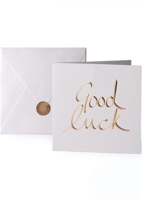 Katie Loxton Greeting Card Good Luck