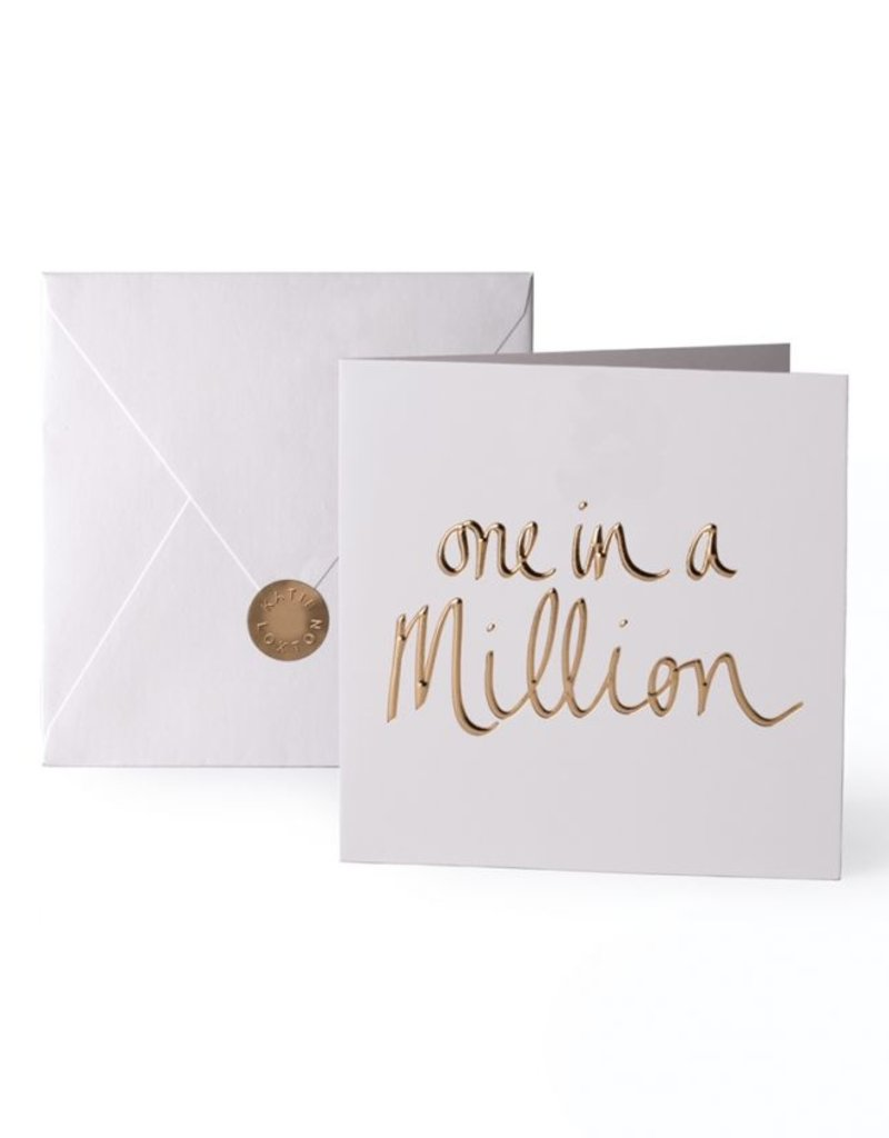 Katie Loxton Greeting Card One In A Million
