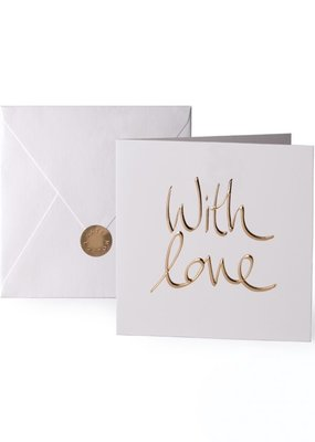 Katie Loxton Greeting Card With Love