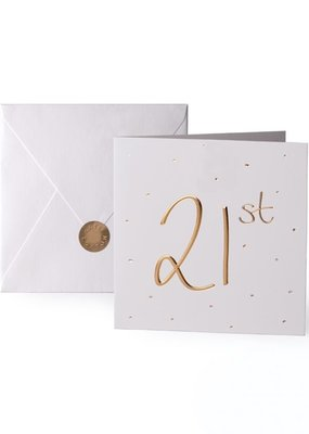 Katie Loxton Greeting Card 21st