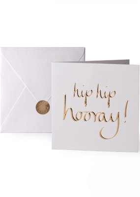 Katie Loxton Greeting Card Hip Hip Hooray