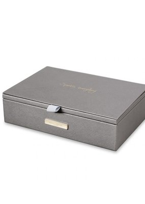 Katie Loxton Jewelry Box Sparkle Everyday Met Charcoal